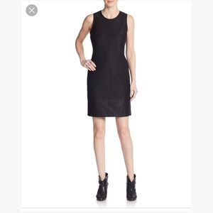 Rag & bone yuri textured shift dress